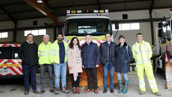 La Junta cuenta en Albacete con 80 trabajadores, 29 vehículos y 1.500 toneladas de sal para el plan invernal