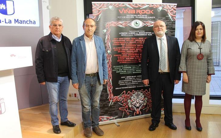 La Junta de Castilla-La Mancha declara el Festival 'Viña Rock' de Villarrobledo como Fiesta de Interés Turístico Regional