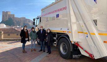 Yeste (Albacete) y sus pedanías cuentan con un nuevo camión de recogida de residuos gracias a la estrategia ITI