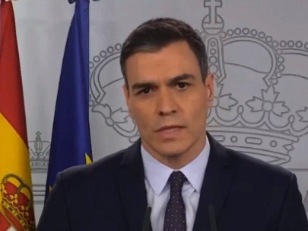 """Sánchez anuncia que """"las medidas del estado de alarma no van a durar 15 días más, durarán un tiempo más"""""""
