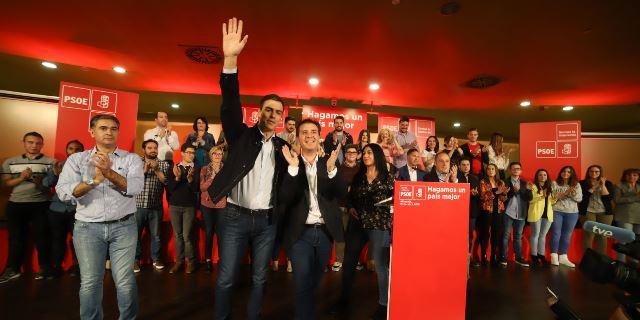 Sánchez en un acto el año pasado en Albacete.