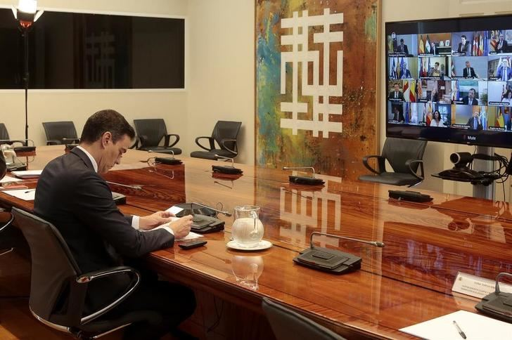 Pedro Sánchez informa a las autonomías de que pedirá la sexta y última prórroga al estado de alarma