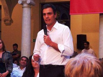Pedro Sánchez garantiza el abastecimiento de agua a Murcia cumpliendo con el trasvase