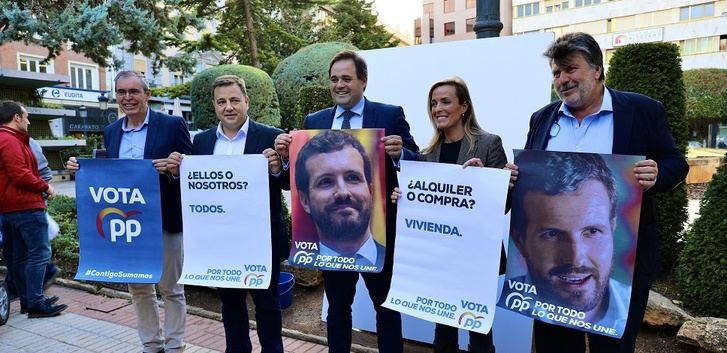 PSOE, PP, Ciudadanos y Vox pugnan por los cuatro escaños al Congreso por Albacete