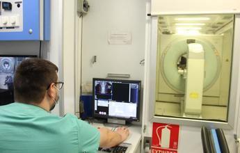 Desde que funcionan las unidades móviles, 9.200 personas han evitado desplazarse para hacerse una prueba diagnóstica de PET-TC