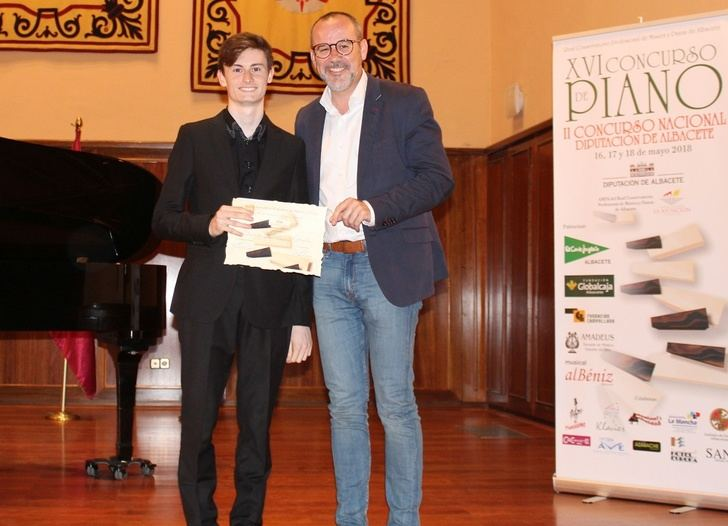 Los premios del XVI Concurso de piano Diputación de Albacete ya tienen ganadores