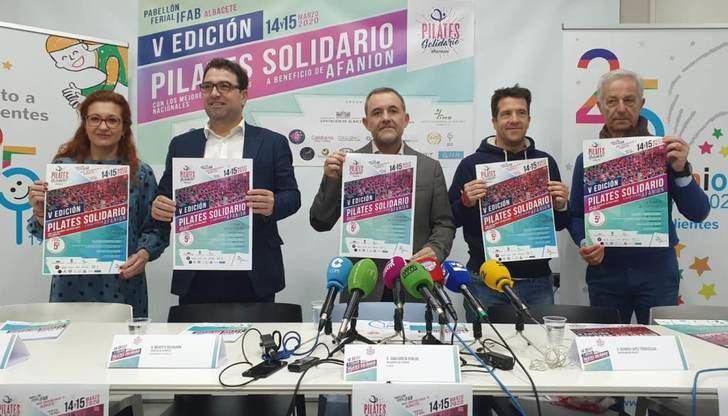 Pilates solidario de Afanion en Albacete, mucho más que una actividad deportiva