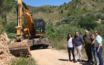 La Junta inicia las obras de emergencia en pistas forestales de la provincia de Albacete dañadas por las últimas tormentas