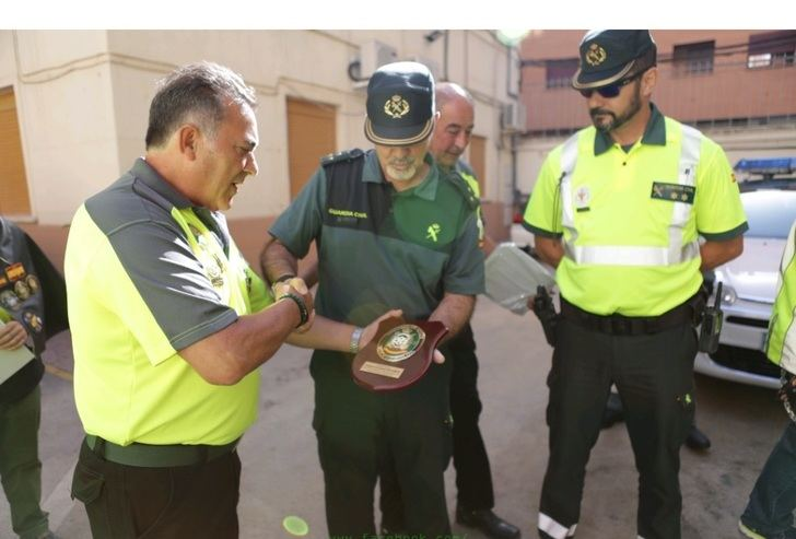 Homenaje a la Guardia Civil por su labor en la provincia de Albacete