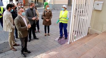 Imagen de archivo de plan de empleo en Albacete