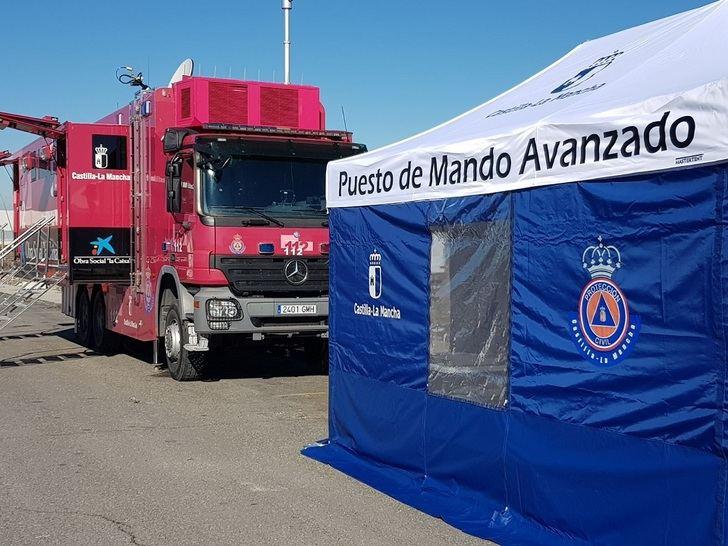 Los planes especiales de Protección Civil se activaron en ocho ocasiones durante 2018, coordinados por el 112