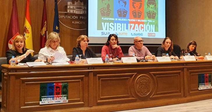 Presentada en la Diputación de Albacete la 'Plataforma de Mujeres Policías y Militares'