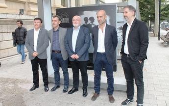 Inaugurada la exposición 'Platea. Los fotógrafos miran al cine' en el centro de Albacete