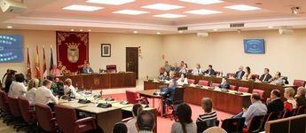 Pleno del Ayuntamiento de Albacete para despedir a los hasta ahora concejales