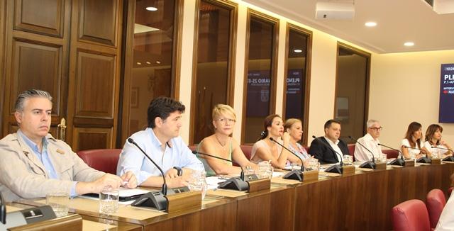 El pleno del Ayuntamiento de Albacete aprueba tres mociones del PP sobre familias, Ala 14 y ordenanza cívica