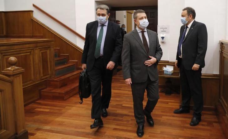 Críticas de la oposición al gobierno de Page en la gestión del coronavirus, en el pleno de las Cortes de Castilla-La Mancha