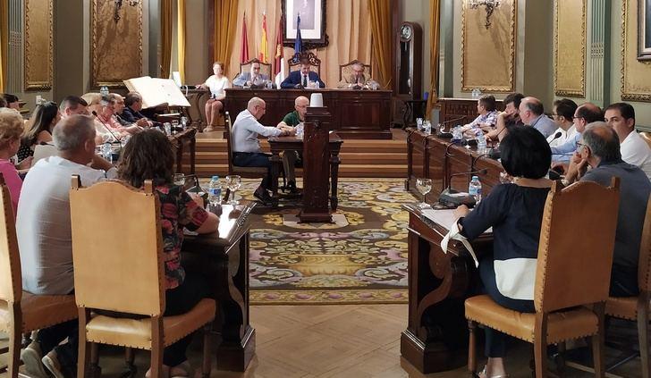 Pleno extraordinario en la Diputación de Albacete para despedir el mandato