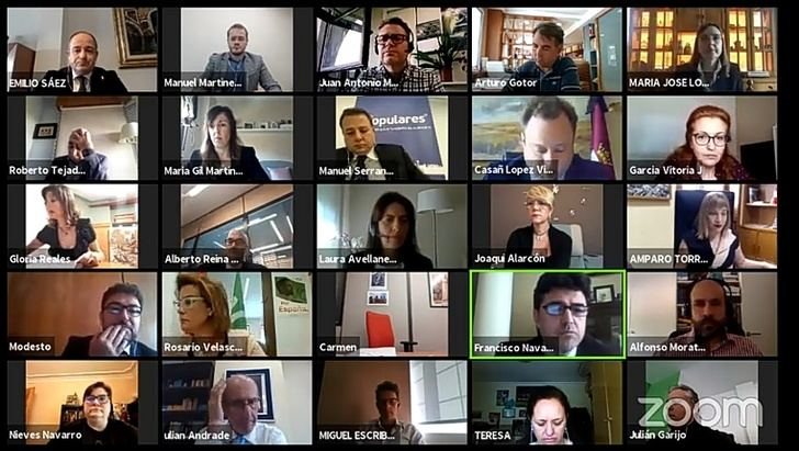 El alcalde y los concejales de Ciudadanos votan con el PP y Vox para reprobar a Page en el Ayuntamiento de Albacete