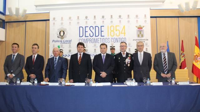 La Policía Local de Albacete cumplió 164 años desde su creación