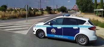 Campaña de la Policía Local de Albacete para controlar las distracciones por el móvil o los navegadores