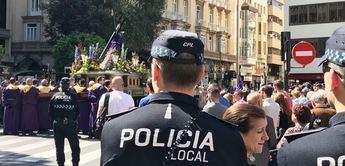 Dispositivo especial de tráfico y seguridad de la Policía Local de Albacete para las procesiones de Semana Santa