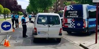 La Policía Local de Albacete participa en la campaña sobre control de la tasa de alcoholemia y drogas, del 10 al 16