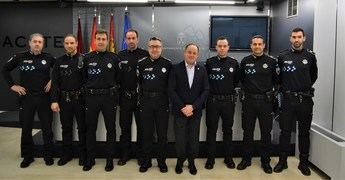 El día 13 de enero comenzarán el curso de formación los nuevos siete oficiales de la Policía Local de Albacete