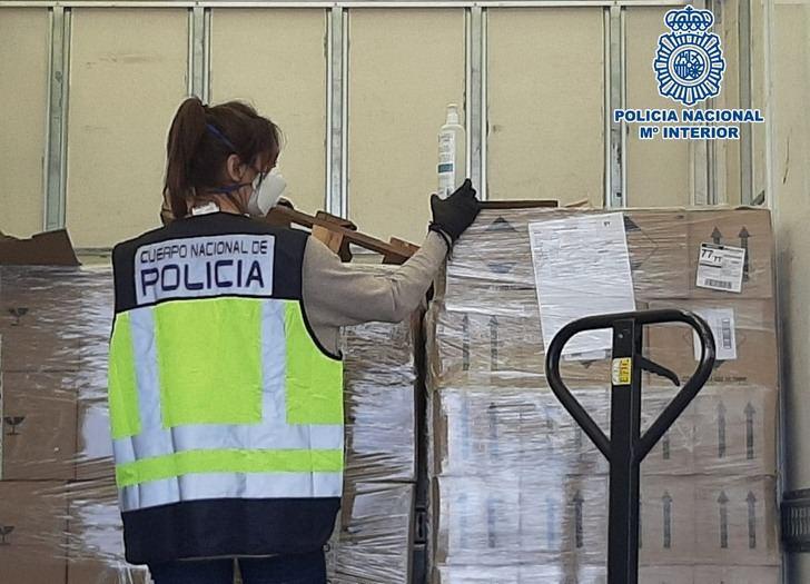 Sanidad reparte 2,4 millones de mascarillas en Castilla-La Mancha