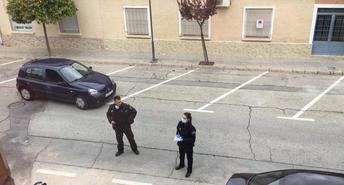 La Policía Municipal de Hellín ha sancionado a varias personas por transitar por la calle