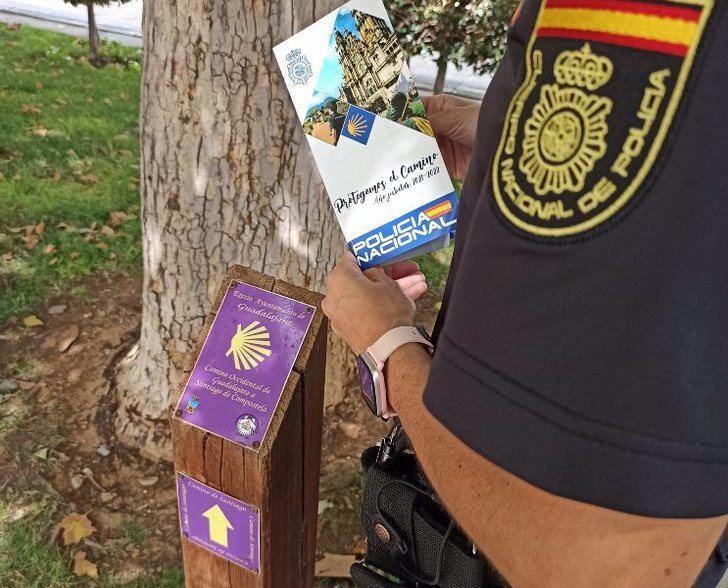 La Policía Nacional ya tiene centros oficiales de sellado de la credencial de peregrino en Albacete, Guadalajara y Toledo