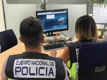 Tres detenidos por estafar más de 17.000 euros a empresas de formación online de Albacete, Toledo y otras provincias