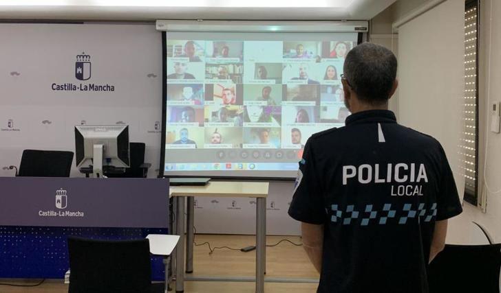 45 nuevos policías locales se estrenan en Albacete, Almansa, Caudete, Hellín, Tobarra y Villarrobledo