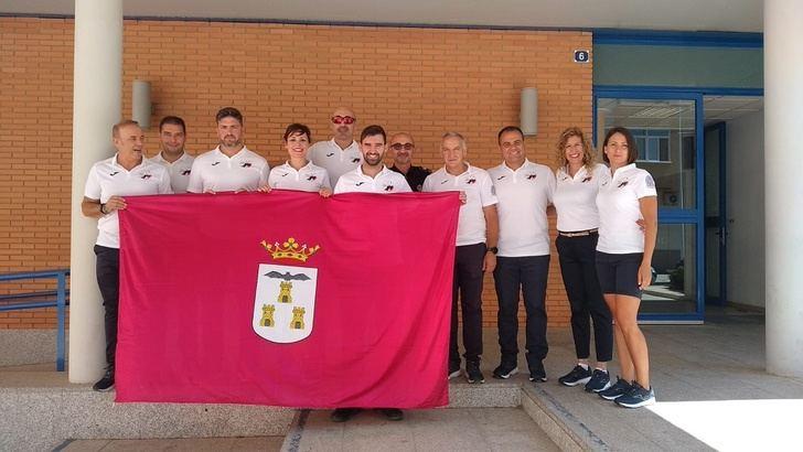 Policías y bomberos de Albacete inician el viaje para participar en los Juegos Mundiales