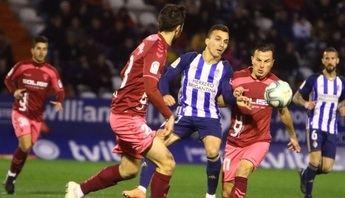Empate del Albacete en Ponferrada, en un partido con el VAR como protagonista (1-1)