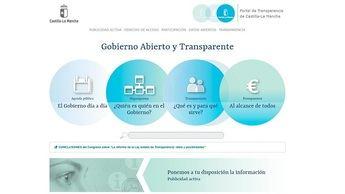 El Portal de Transparencia de Castilla-La Mancha recibió casi 32.000 visitas hasta julio