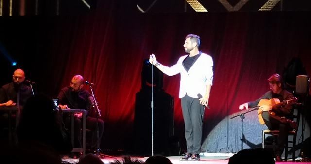 Miguel Poveda 'Enlorqueció' con su cante y su sentimiento en la Feria de Albacete