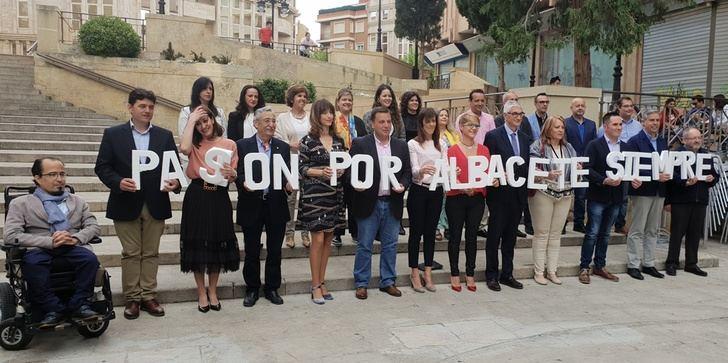 El PP de Albacete presenta una candidatura municipal para seguir trabajando con y para los ciudadanos