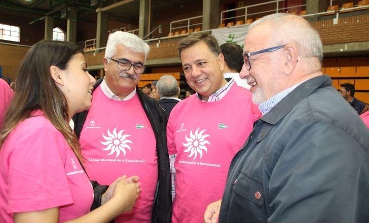 Apoyo del equipo de gobierno y del PP de Albacete a las personas con discapacidad