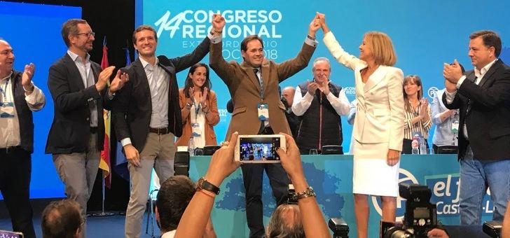 Núñez trabaja ya por hacer realidad la tercera victoria consecutiva del PP sobre el PSOE en Castilla-La Mancha