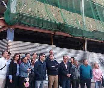 """El PP denuncia la paralización de las obras del centro de salud número 1 de Hellín """"por culpa de Page"""""""