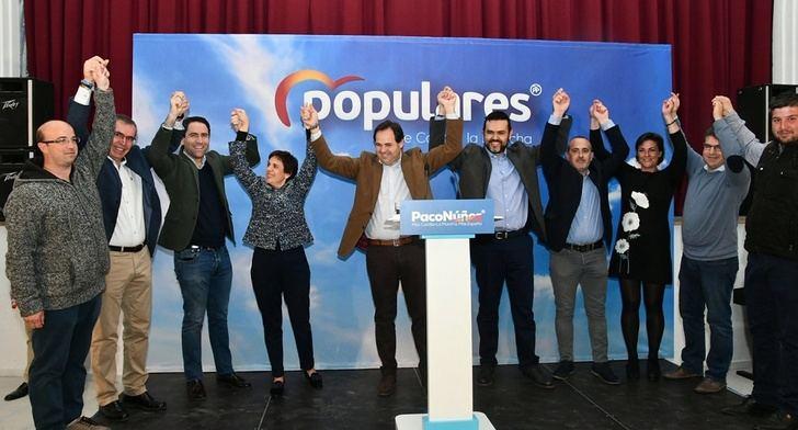 Paco Núñez y Teodoro García presentan a los candidatos del PP en siete municipios de Hellín y Sierra del Segura (Albacete)