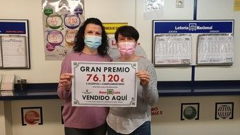 Premio en Albacete de 76.000 euros del sorteo del Bonoloto