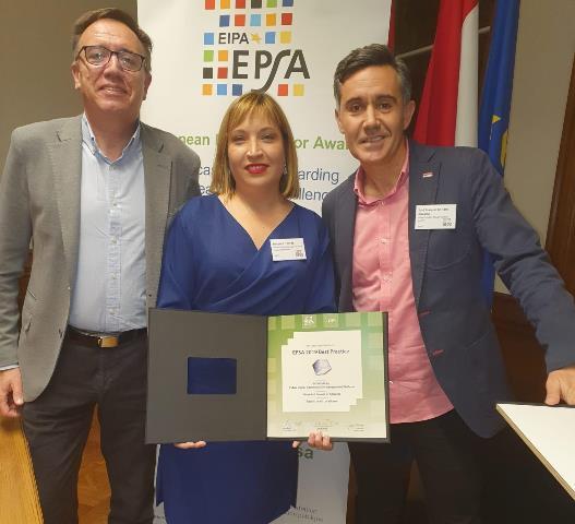 La plataforma digital de la Diputación recibe un nuevo reconocimiento en el marco de los European Public Sector Award