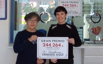 Acertante de segunda categoría de Euromillones en Casas Ibáñez (Albacete), con un premio de más de 244.000 euros