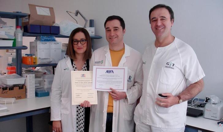 Premio para el doctor Emilio José Laserna, de Villarrobledo (Albacete) por una investigación sobre inflamación intestinal