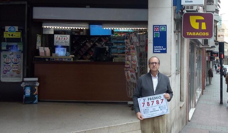 Vendido en Albacete el segundo premio de la Lotería Nacional