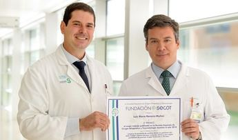 Traumatólogos del Hospital de Parapléjicos de Toledo, premiados por un estudio que mejorará el dolor lumbar