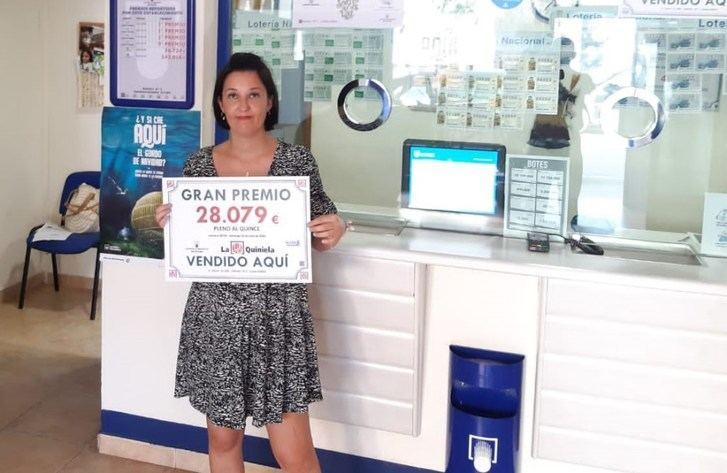 Premio de 28.000 euros para un acertante del Pleno al 15 de la Quiniela en Casas Ibáñez (Albacete)