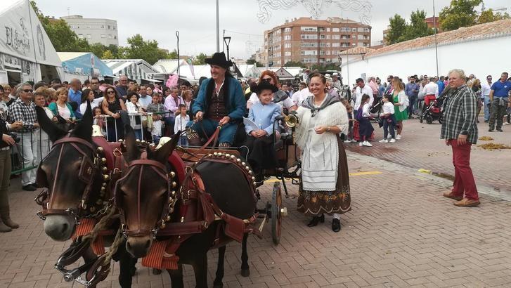 El Estribó entregó sus premios para realzar la presencia de los caballos en los Ejidos de la Feria de Albacete