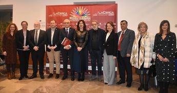 Gala de entrega de los XI Premios Solidarios del grupo multimedia La Cerca, en la Fábrica de Harinas de Albacete